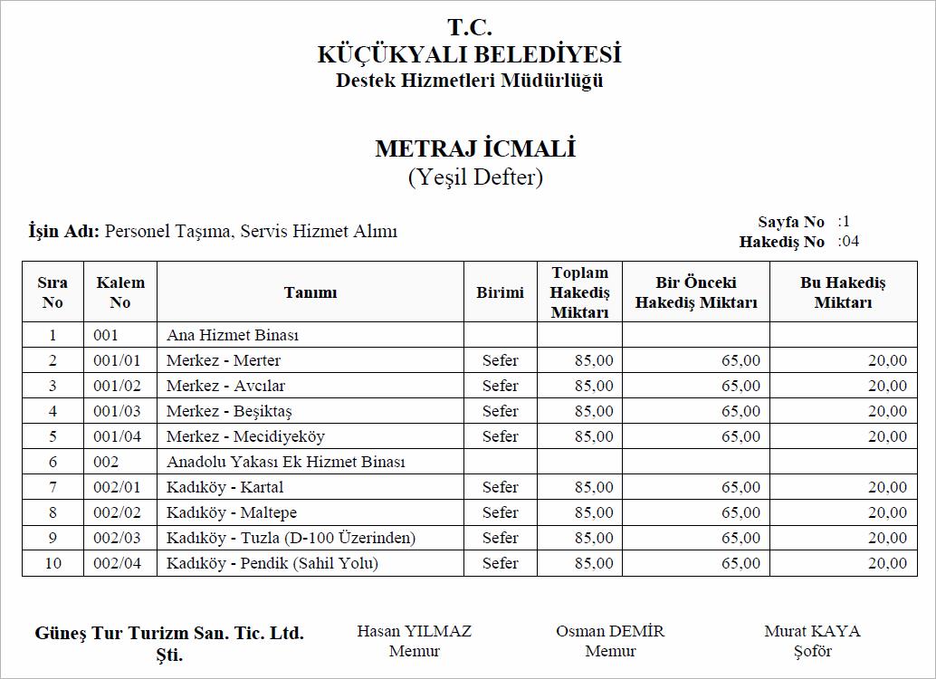 metraj-icmali-personel-tasima
