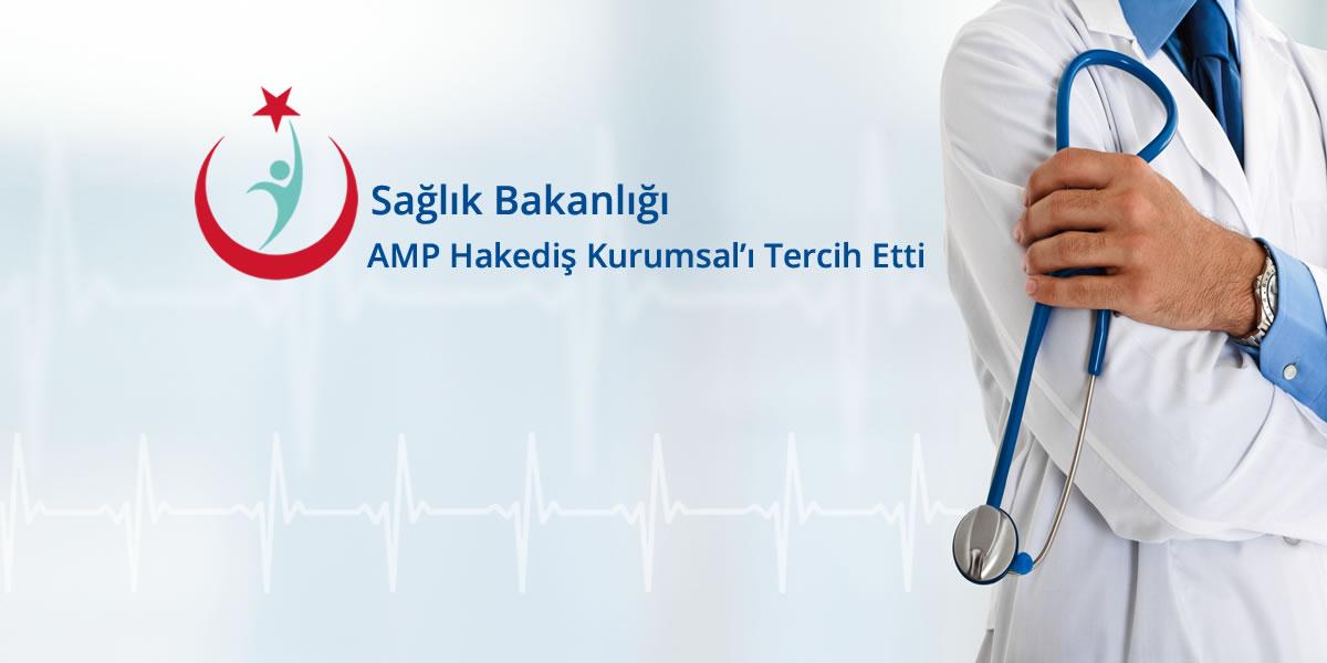 Sağlık Bakanlığı AMP Hakediş Kurumsalı Tercih Etti
