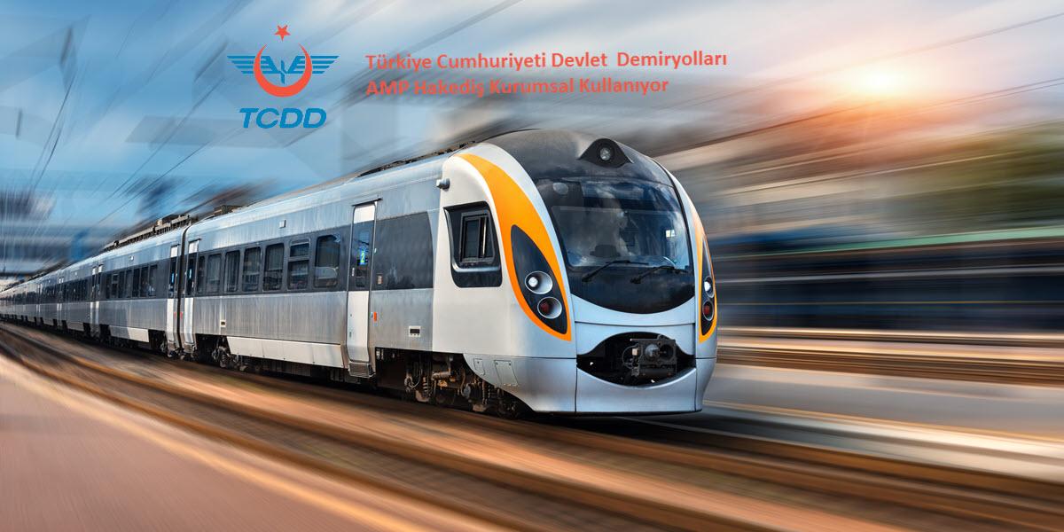 Devlet Demiryolları AMP Hakediş Kurumsal Kullanıyor