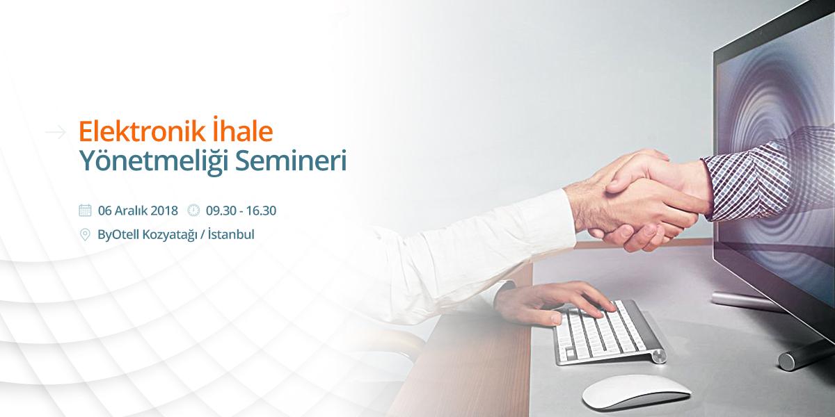 Elektronik İhale Semineri İstanbul 2018/2