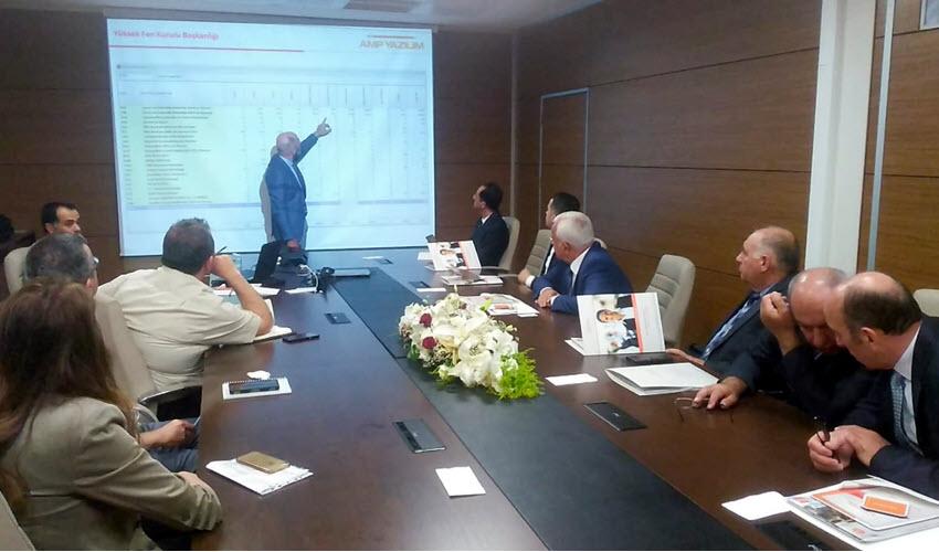 Azerbaycan'da Hakediş Kurumsal ve Birim Fiyat Otomasyonu Sunumu