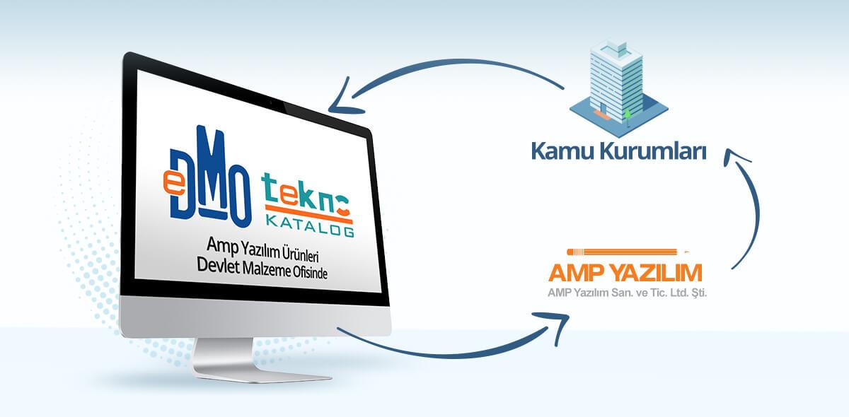 AMP Yazılım Ürünleri DMO'da 2