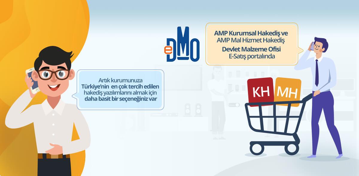 AMP Yazılım Ürünleri DMO'da