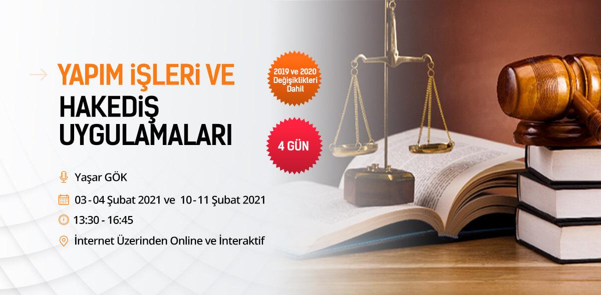 Yaşar Gök Mevzuat Semineri 2021